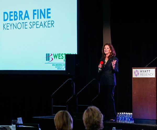 Debra Fine - Speaker & Bestselling Author of The Fine Art of